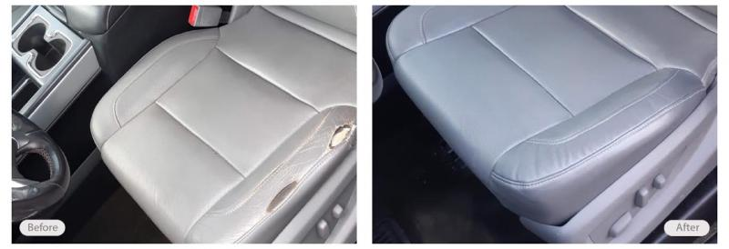 Vehicle seat repair and restoration