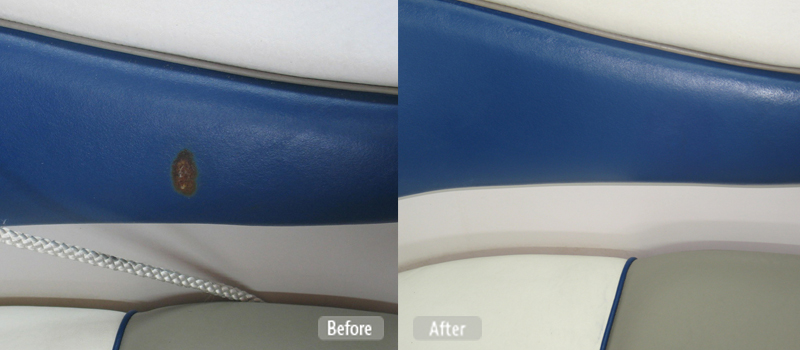 Photo Boat Seat Panel Repair Fibrenew Brisbane Central