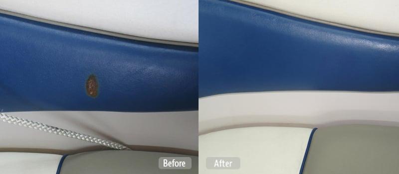 Photo Boat Seat Panel Repair Fibrenew Brisbane Central