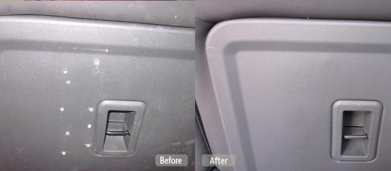 Plastic Seat Back Repair