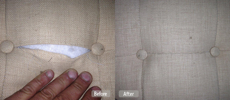 Photo Split Furniture Seam Repair Fibrenew Sun City