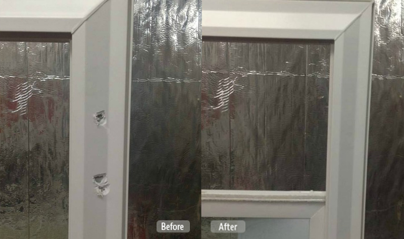 PVC Window Casing Repair
