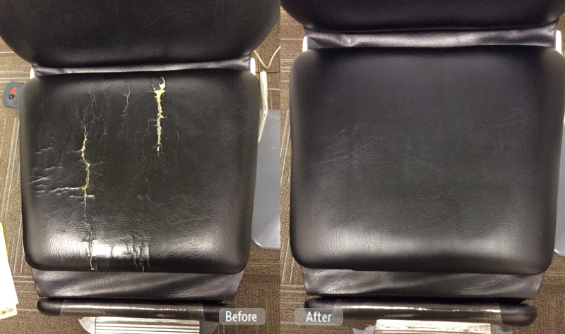 Photo Medical Chair Restoration Fibrenew Of Sarasota