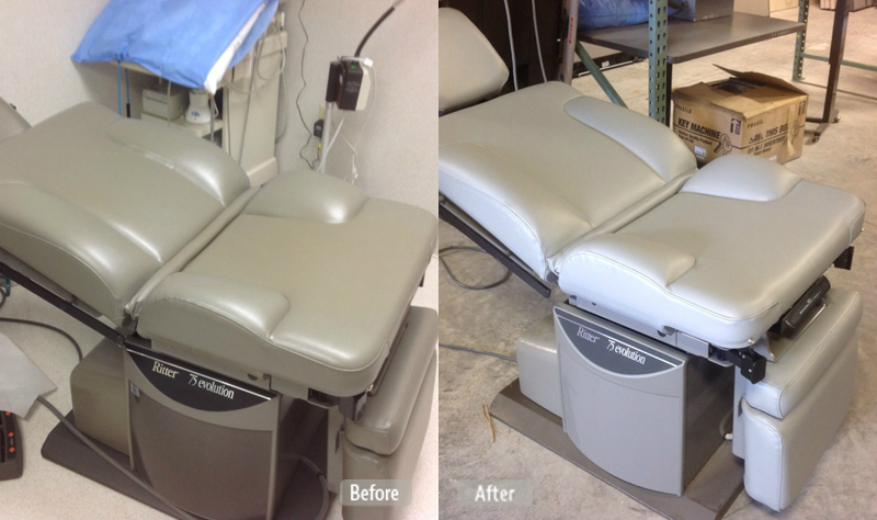 Medical Examination Chair Repair