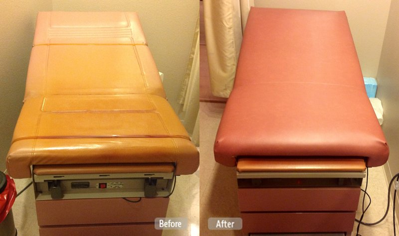 Photo Medical Exam Table Restoration Fibrenew Prince George