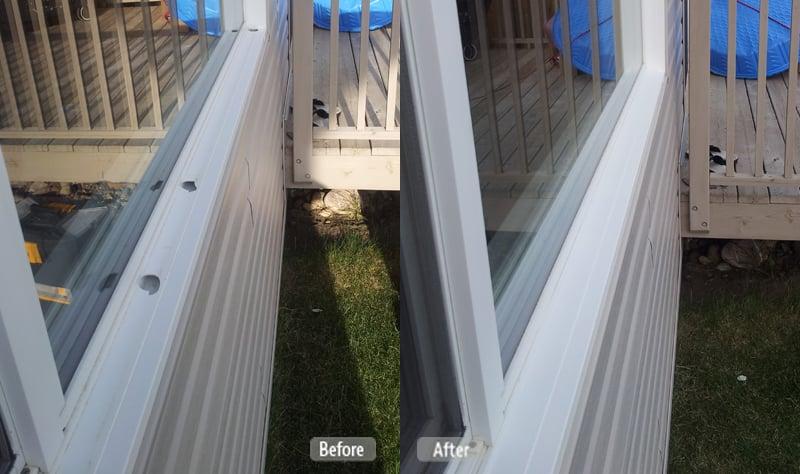 Window Casing Repair