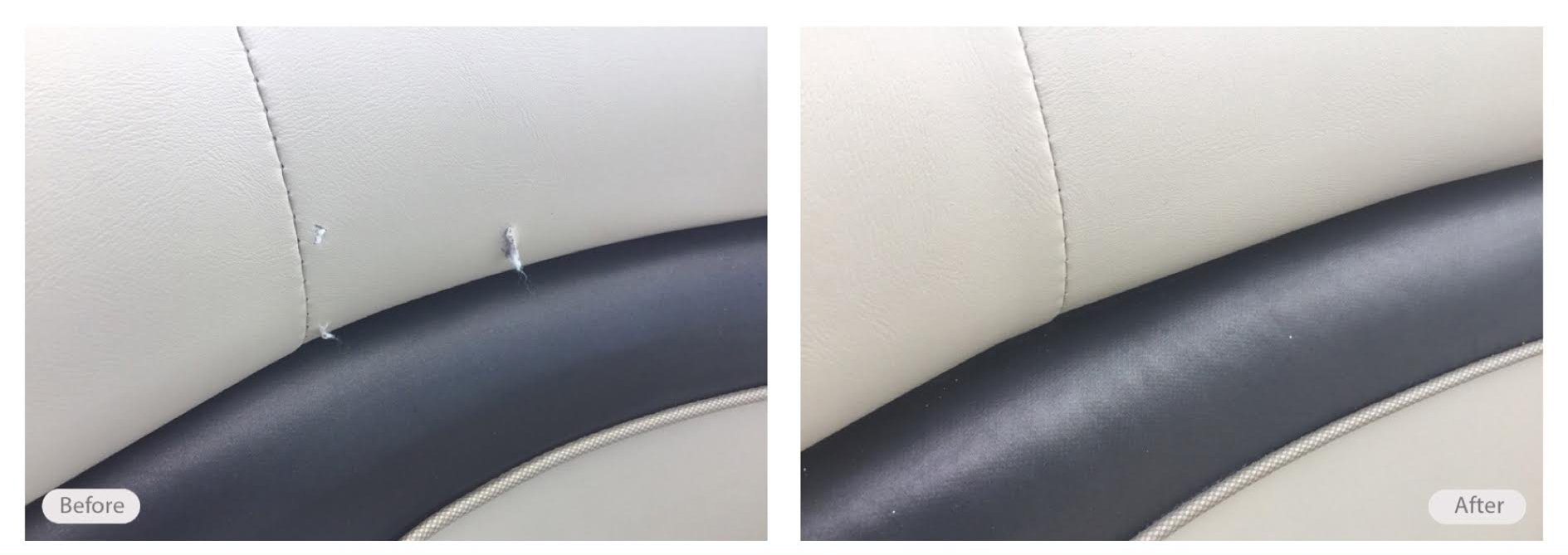 Boat Upholstery Restoration and Seat Repair