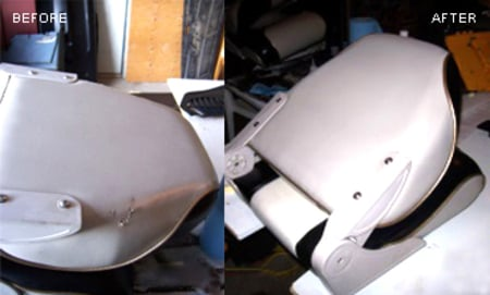 Boat Seat Refurbishing